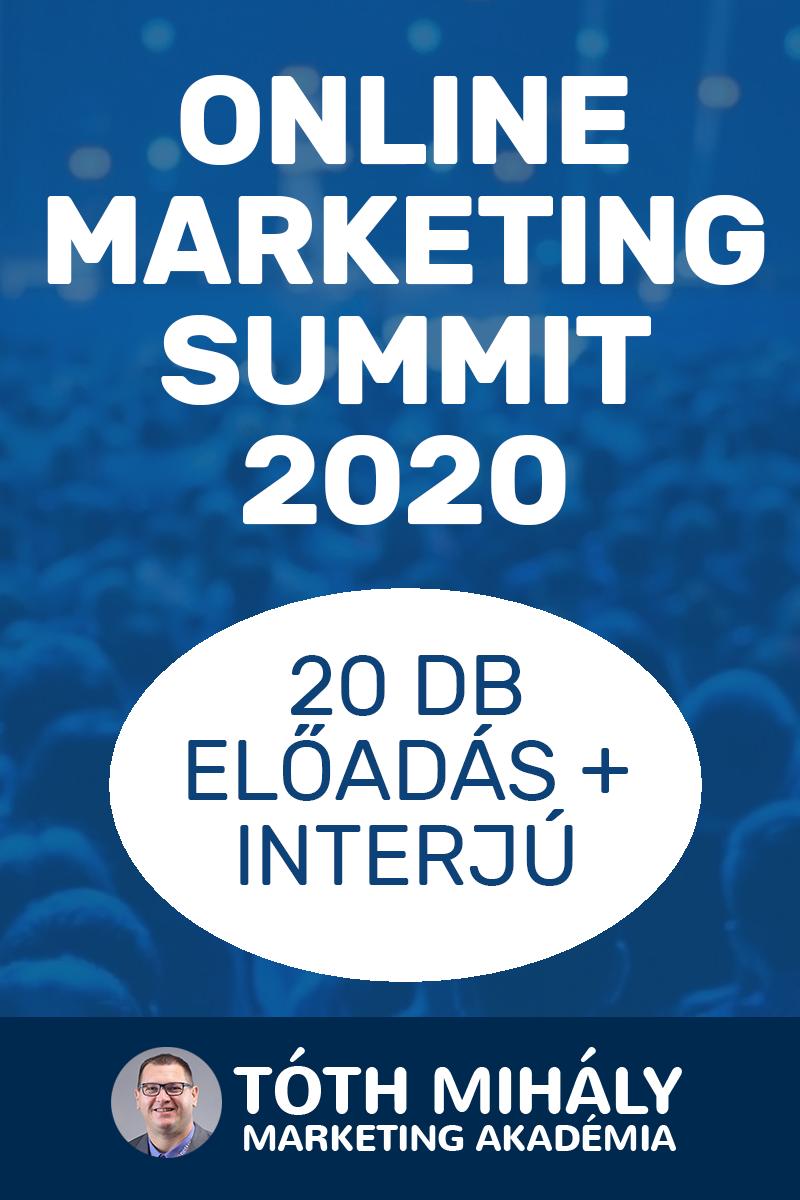 Tóth Mihály: Online Marketing Summit 2020